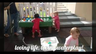 Blossom Village Babies Classes Having Waterplay