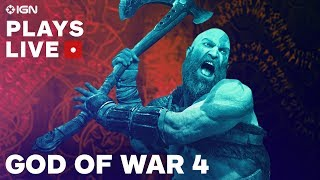God of War Hardest Difficulty Combat Challenge - IGN Plays Live