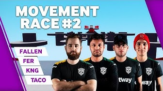 MIBR Movement Race #2 | with FalleN, Fer, TACO and kNg