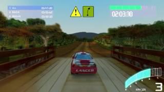 Colin McRae Rally 2.0 | Średnio-zaawansowany - Kenia - Mitsubishi Lancer Karoseria 2