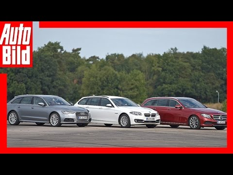 E-Klasse T-Model vs A6 vs 5er (2016) Vergleich/Test/Review