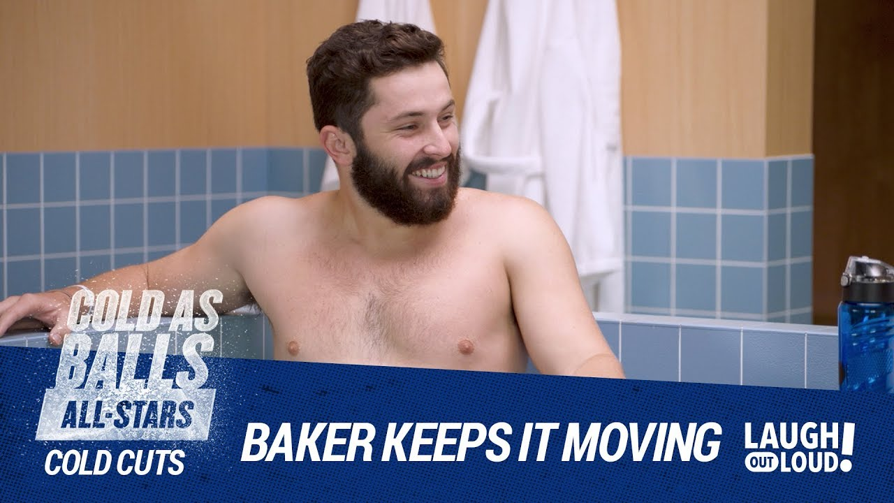 Baker Mayfield Keeps It Moving on Cold As Balls All-Stars