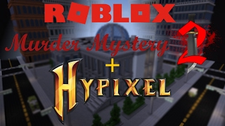 New Hypixel Game: Murder Mystery (Apparently Hypixel plays Roblox)