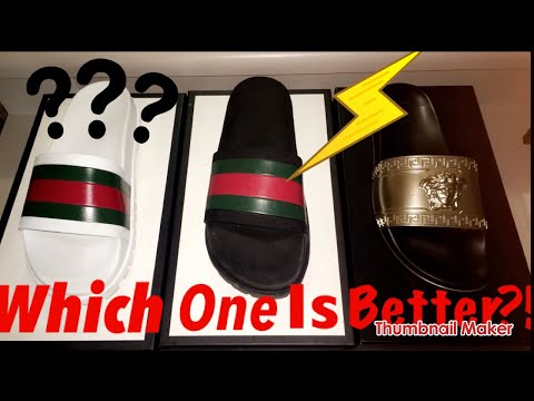 4333b69e2f9 DESIGNER SLIDES ARE THE WORST SHOE UNBOXING