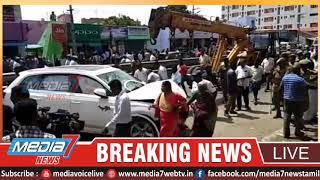 கோவை: சுந்தராபுரம் பகுதியில் விபத்து 8 போ் பலி