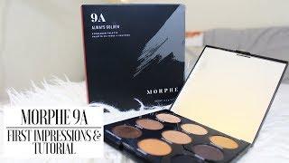 $12 Morphe 9A First Impressions & Tutorial | JENA MARISA