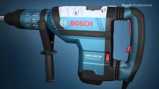 Bosch Electric Rotary Hammer - GBH 8-45 DV Professional Drill Breaker