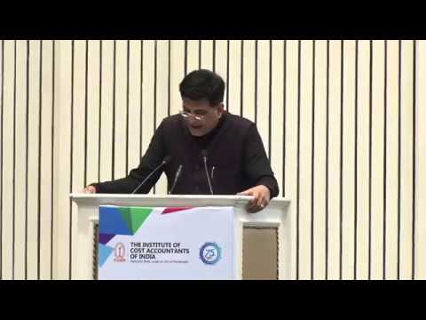 Special Address by the Chief Guest Shri Piyush Goel, Union Minister of Railways and Coal