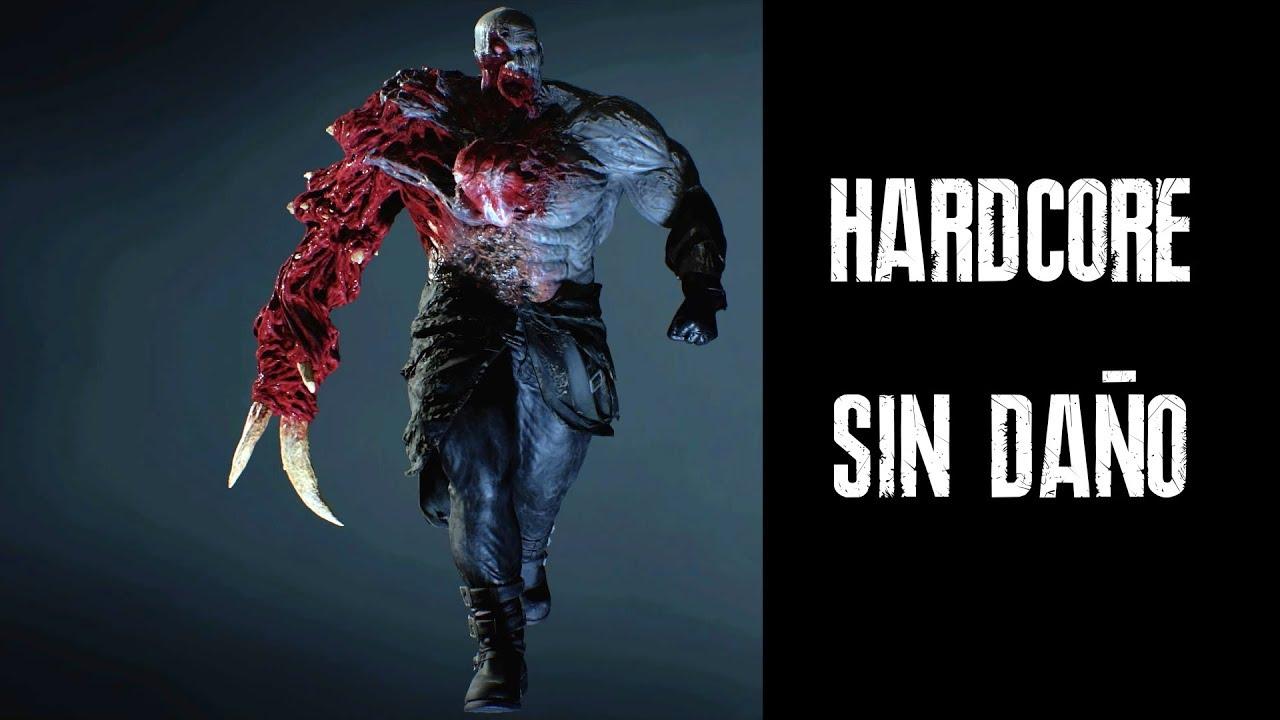 Super Tyrant Hardcore Sin Dano Resident Evil 2 Remake