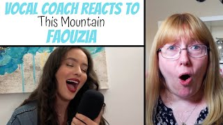 Download Lagu Vocal Coach Reacts to Faouzia 'This Mountain' Acoustic mp3