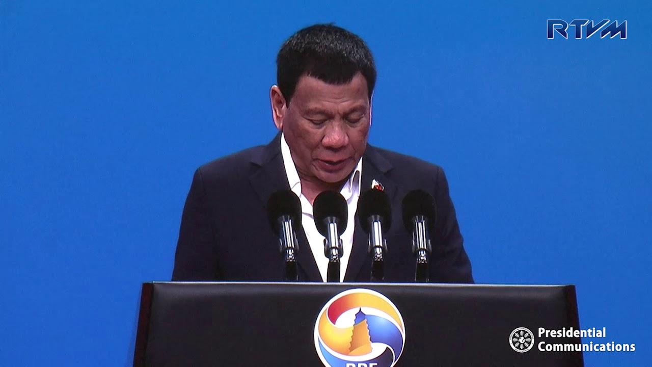 Speech of President Rodrigo Roa Duterte at the High Level Meeting Session 1
