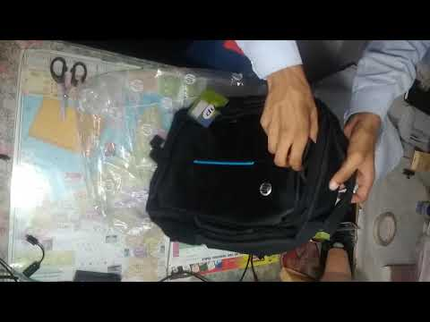 Unboxing and review of HP laptop bag shopping online by Payt