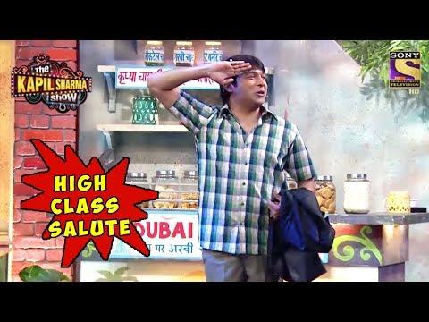 Chandus High Class Salute - The Kapil Sharma Show