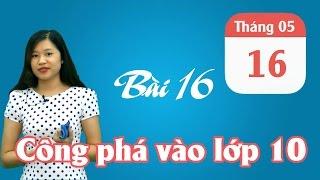 ÔN THI VÀO 10 MÔN VĂN: Chia sẻ kinh nghiệm thi vào 10- Trần Thị Huyền An