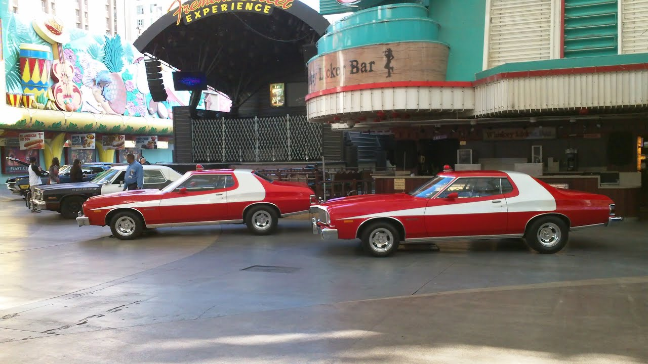 Starsky & Hutch Movie Cars, 2015 Las Vegas Star Cars Fremont Street ...