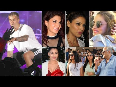 Justin Bieber Concert Mumbai | Alia Bhatt, Malaika Arora & MORE Bollywood Stars attend the concert