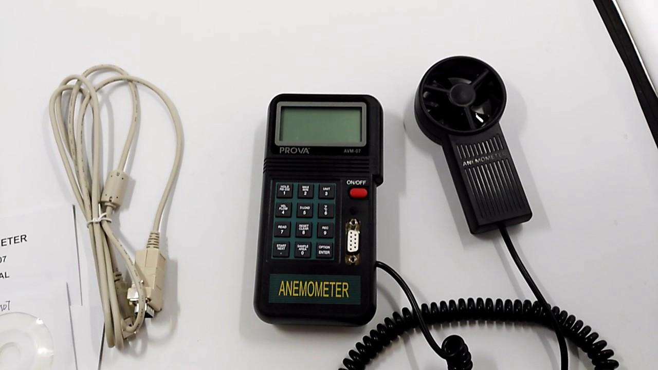 AVM 07 Flow Anemometer