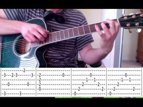 Guitar Lesson: C418 - Wet Hands - Minecraft Volume Alpha - How To Play / Fingerpicking Tutorial