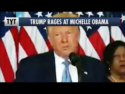 Trump's CHILDISH Response to Michelle Obama's DNC Speech