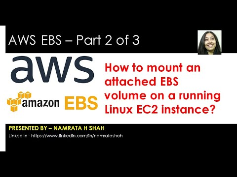 AWS EBS 2 of 3 - How to mount an attached EBS volume on a running