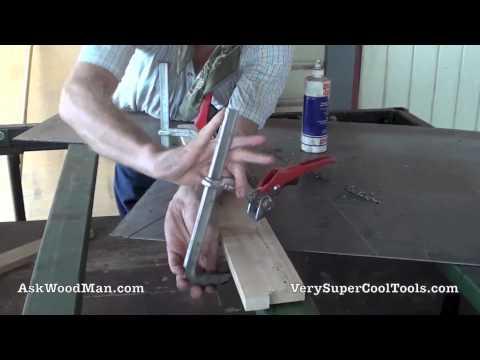 Making A DMT Diamond Stone Holder 2 of 4