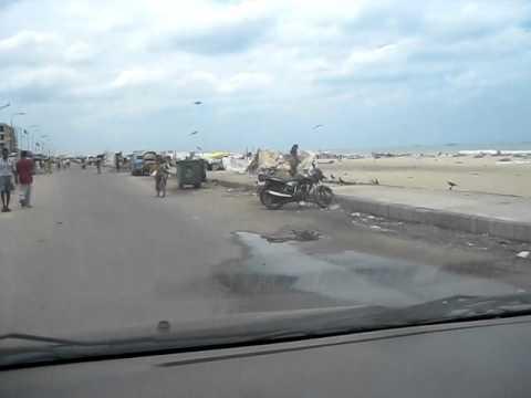 Marina Beach Tsunami Damage - YouTube