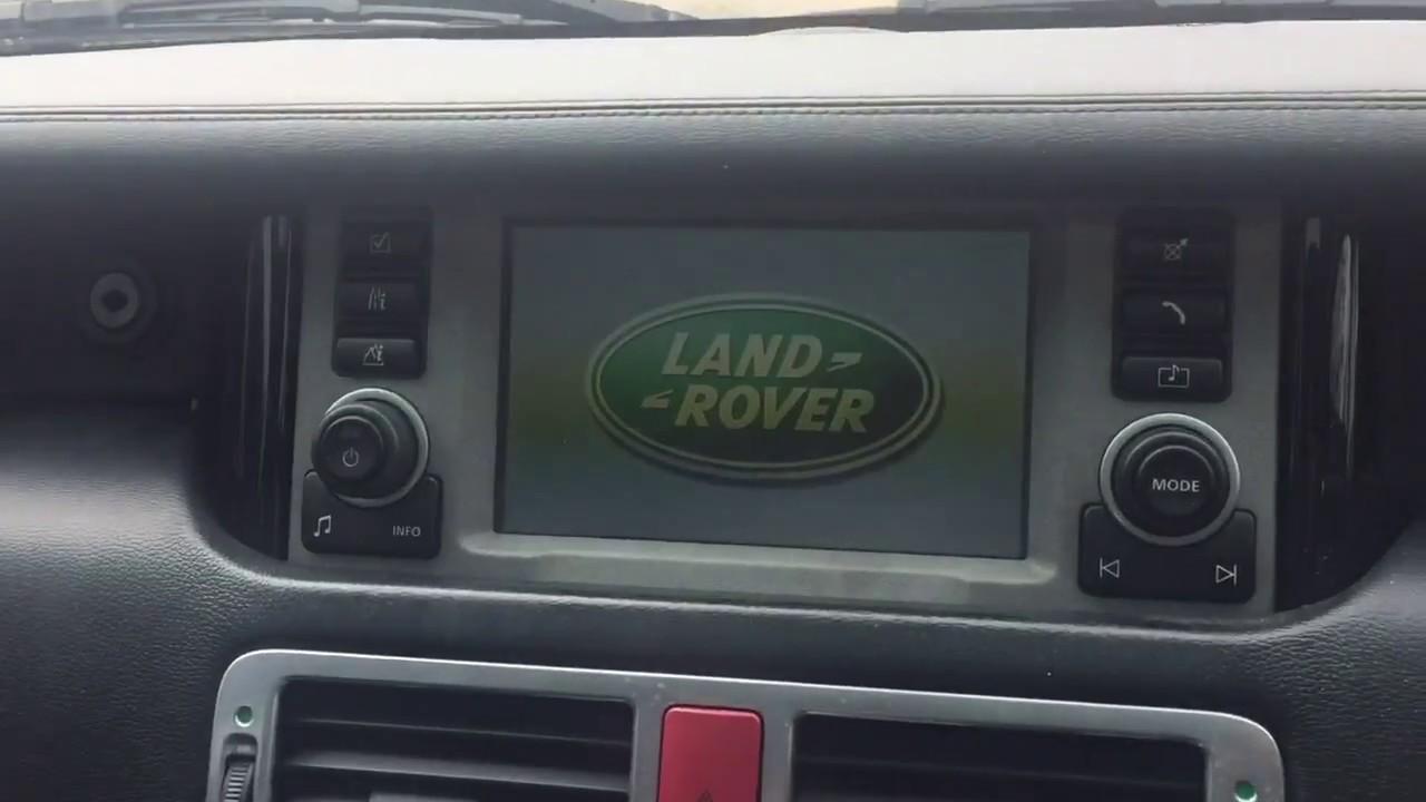 range rover radio fix [ 1280 x 720 Pixel ]