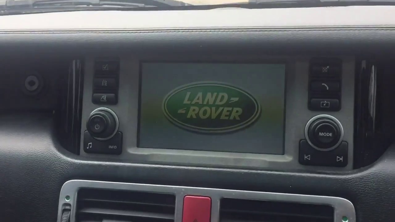 medium resolution of range rover radio fix