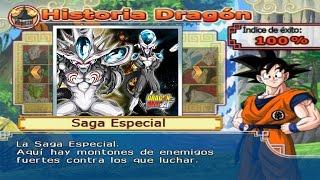 Goku SSJ5 VS Ize (MODO HISTORIA: AF)   Dragon Ball Z Budokai Tenkaichi 3 Version Latino MOD