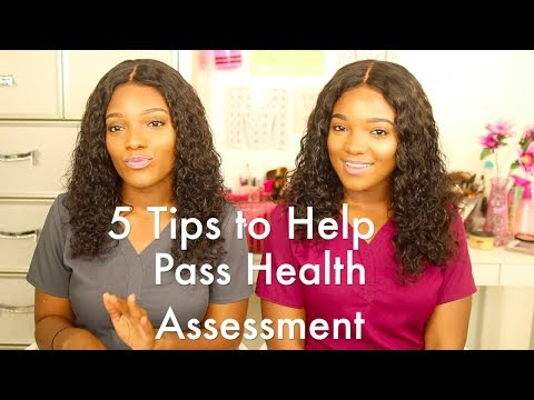 5 Tips to Pass Health Assessment