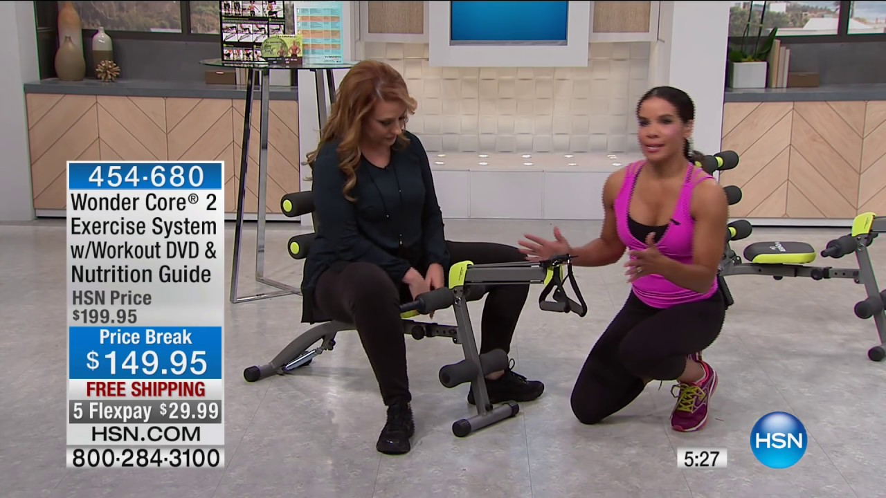 Wonder Core 2 Exercise System with Workout DVD   HSN