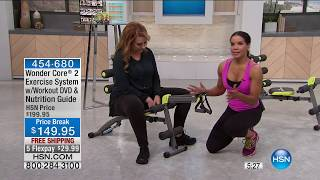Wonder Core 2 Exercise System with Workout DVD | HSN