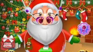 Лечить нос Деда Мороза (Santa Nose Doctor) - прохождение  игры