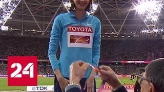 Прыжки в высоту. Россиянка Ласицкене взяла золото на ЧМ в Лондоне