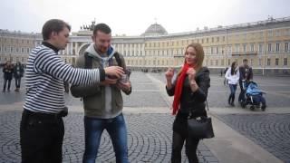 4 Ноября 2014.Уроки жонглирования булыжниками в День народного единства.