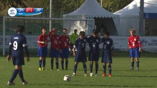 Spain vs Japan - 1/2 Final - Highlight - Danone Nations Cup 2016
