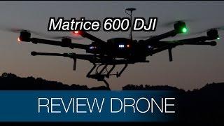 DJI Matrice 600 en vol