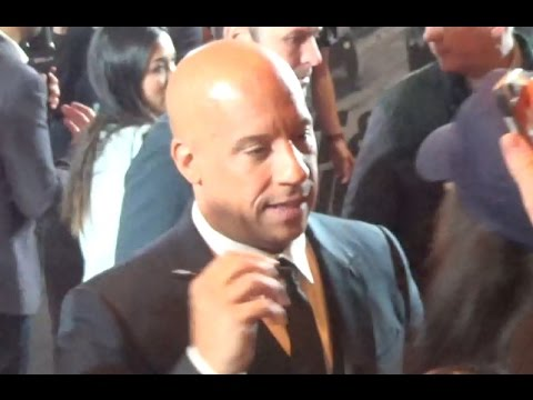 Vin DIESEL @ Paris 5 april 2017 Fast and Furious 8 avant premiere / Red Carpet / avril