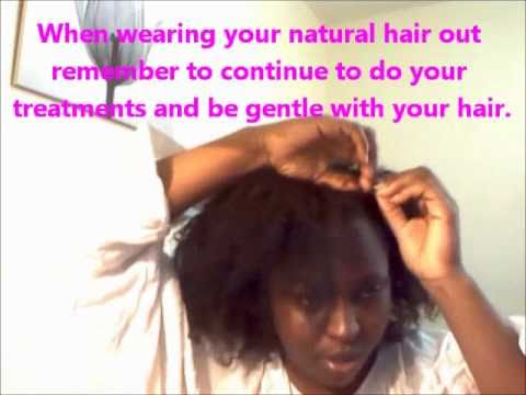 Blending Natural Hair With Indian Curly Weave