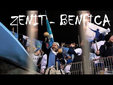 Зенит - Бенфика 09.03.2016