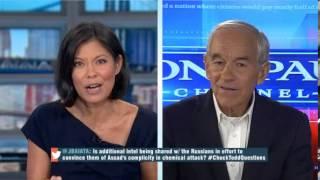Ron Paul Talks Syria NSA Wikileaks MSNBC Still Says Racist