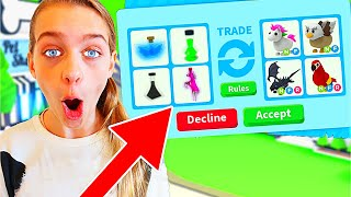 ONLY TRADING POTIONS IN ADOPT ME Roblox Gaming w/ The Norris Nuts