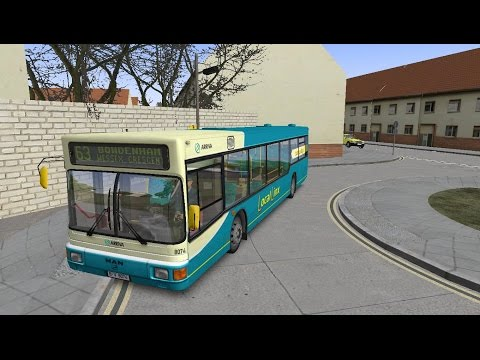 Omsi 2: Bowdenham V4, Arriva Route 63 to Wessex Cresent