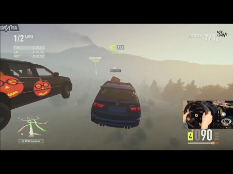 Forza Horizon 2 Storm Island LP Ep3 BMW X5 Getting AIR! w/Wheel Cam | SLAPTrain