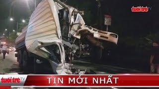 ⚡ NÓNG | Xe bồn tông kinh hoàng xe container trên Quốc lộ 22
