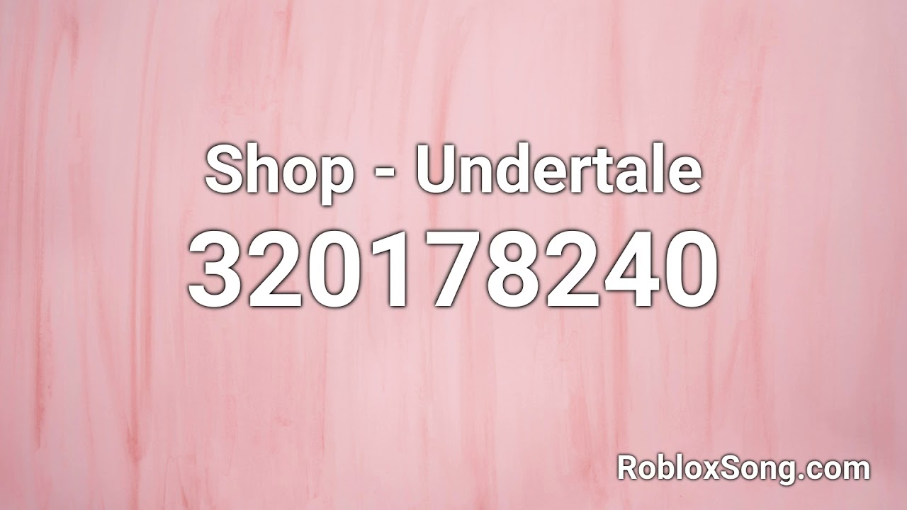 Roblox Undertale Picture Id Shop Undertale Roblox Id Roblox Music Code Youtube
