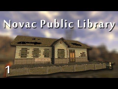 Fallout New Vegas Mods: Novac Public Library 2.0 - Part 1