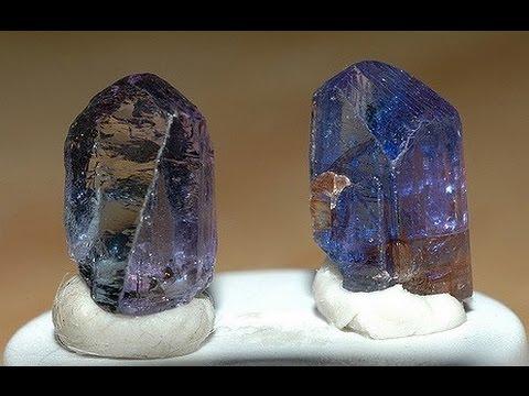 Танзанит Свойства камня