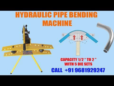 Hydraulic Pipe Bending Machine 22mm To 60mm