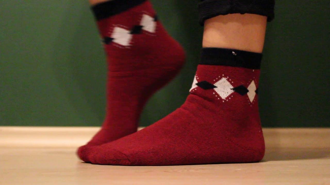 Теплые женские носки купить оптом - YouTube
